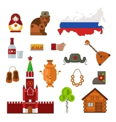 Russia set vector