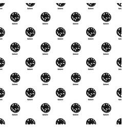 salami pattern seamless vector image