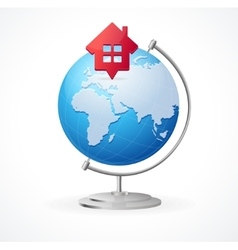 Concept Globe vector image
