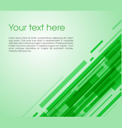 Abstract oblique rectangle background in green vector