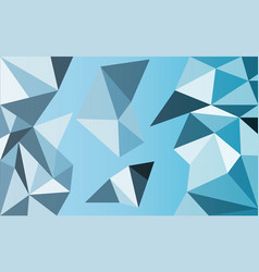 background of geometric shapes retro triangle vector image
