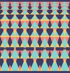 geometric ethnic or tribal seamless pattern fabric vector image