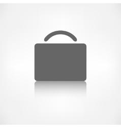 Portfolio web icon Bag symbol vector image