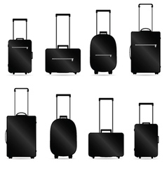 traveling bag vector image