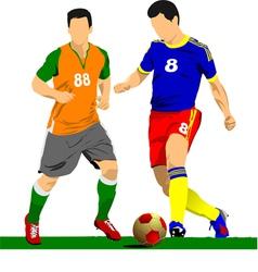 al 0919 soccer03 vector image