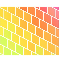 Background with colorful rhombs vector image