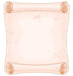 Manuscript vector image