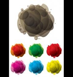 Bubble mess vector