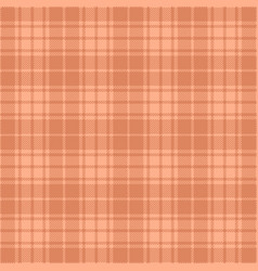 Pink and tan tartan plaid seamless pattern vector