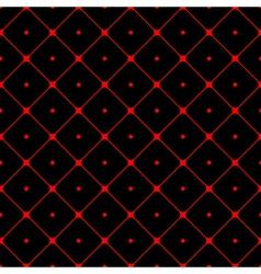 Polka dot seamless pattern Rhombus ornament 1 vector