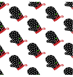 Potholder seamless pattern vector