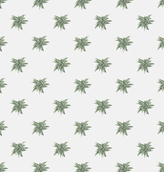 Seamless texture with abstract leaves Endless vector