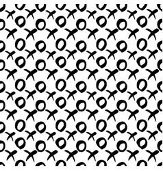 x and o or xo symbols seamles pattern vector image