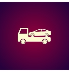 car evacuator Icon vector image