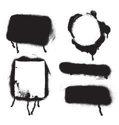 Spray paint vector image