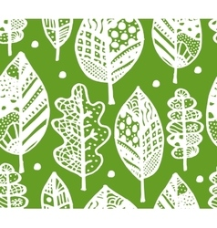 Autumn leaf seamless pattern for your design vector image vector image