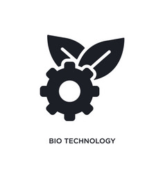 bio technology isolated icon simple element from vector image