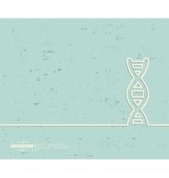 Creative DNA Art template vector
