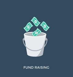 Funds raising vector