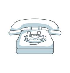 Kawaii telephone call talking communication vector