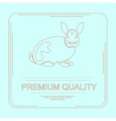 Logotype of premium quality vector