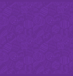 seamless simple pattern with ornamental vector image