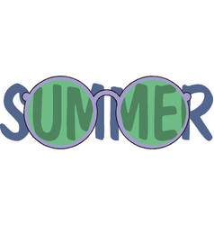 summer days banner design vector image