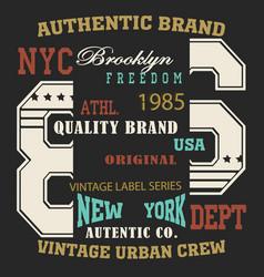 typography sport new vector image