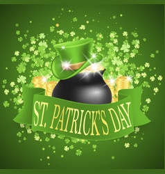 saint patricks day card vector image