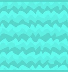 water wave seamless pattern vector image vector image