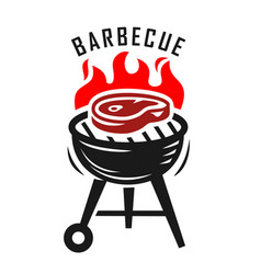 bbq grill vector image vector image