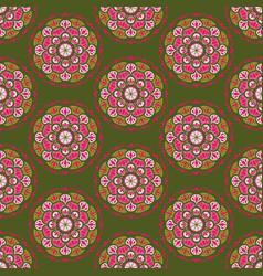seamless man42 green pink vector image vector image