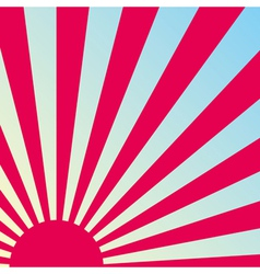 Abstract sunrise background vector