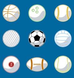 sport ball vector image vector image