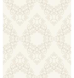 vintage seamless monochrome geometrical pattern vector image