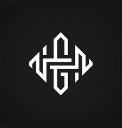 abstract hg vector image
