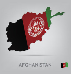 afghanistan vector image