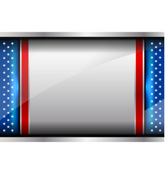 flag america backgrounds style vector image
