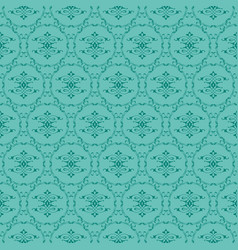 Jade ornamental swirl background with kelly vector