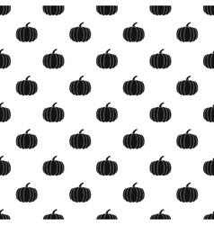 Pumpkin pattern simple style vector
