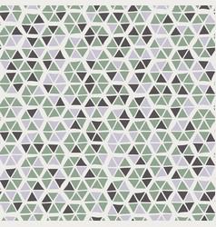 Seamless trendy hexagon mosaic tile swatch pattern vector