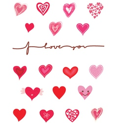 love graphics vector image vector image