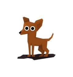 Chihuahua Miniature Dog vector image vector image