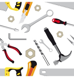 hand tools background vector image