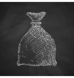 sack icon vector image vector image