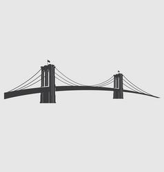 brooklyn grey3 vector image vector image