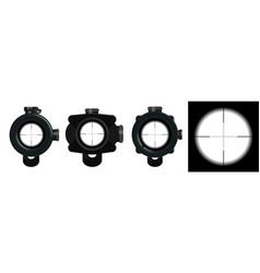 3d models optical sight vector image