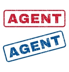 Agent Rubber Stamps vector