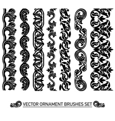 brushes set vector image