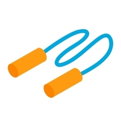 Jump Rope isometric 3d icon vector